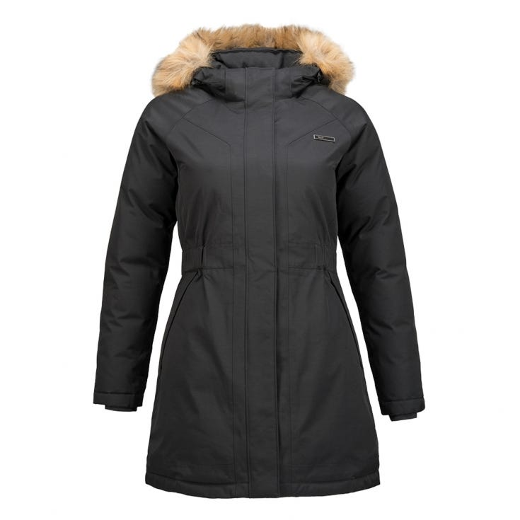 Chaqueta Mujer Vertical B-Dry Jacket Negro I19