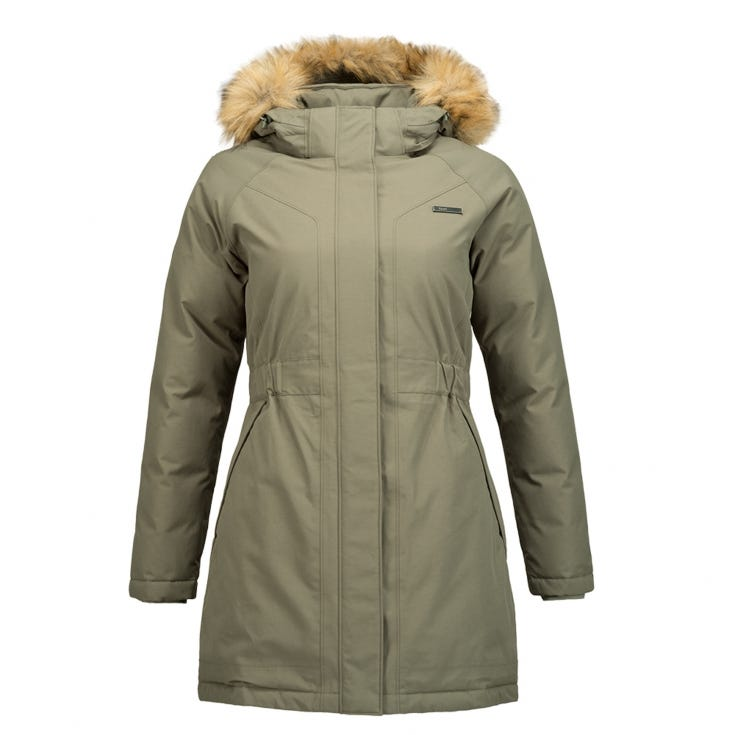 Chaqueta Mujer Vertical B-Dry Jacket Verde I19