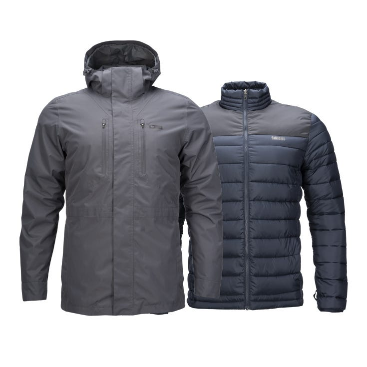 Chaqueta Hombre Intersection Fusion-3 Gris I20