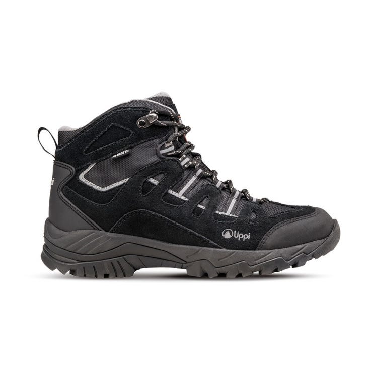 Botin Junior Puelo CS Hi Negro