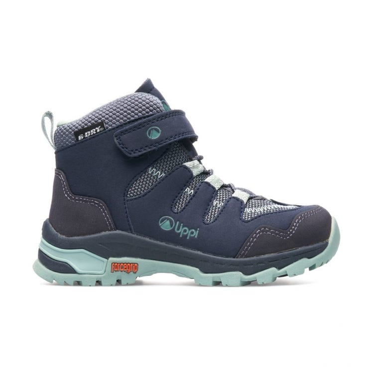 Botin Niña All Terra Mid Kids Azul