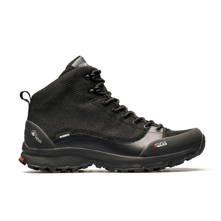 Botin Hombre Light Rock Mid All Black